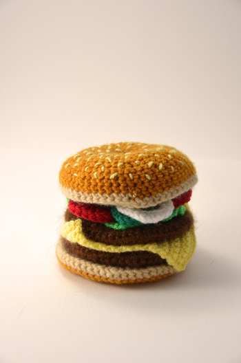 crochet-hamburger