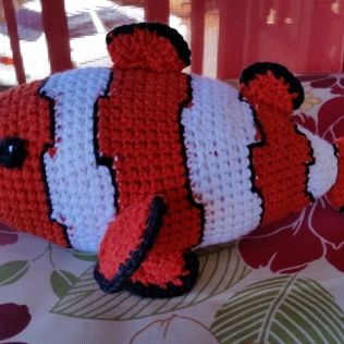 A clownfish made by Carol