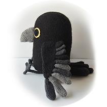 crochet-raven