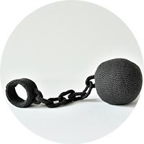 gevangenisbal-cirkel